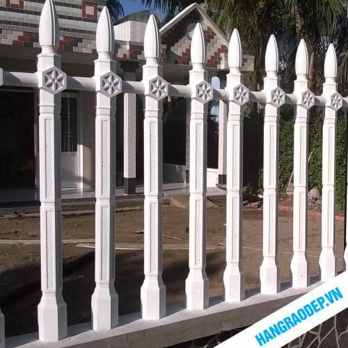 Hàng rào bê tông ly tâm bát giác