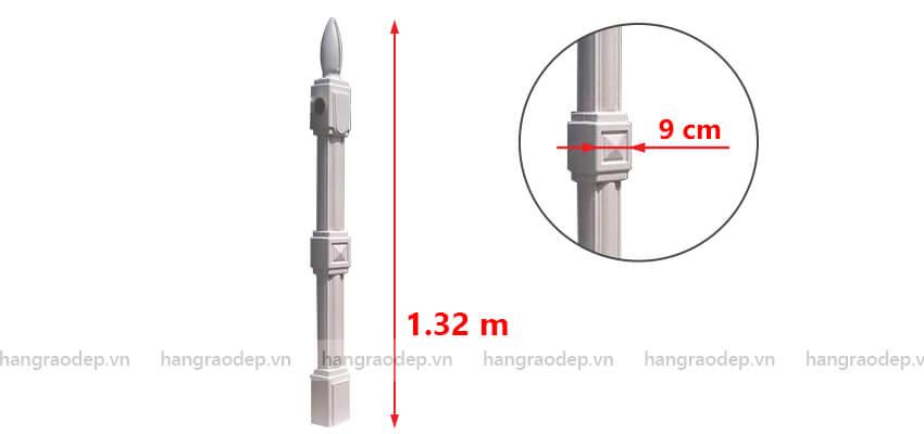 mô tả hàng rào vệ binh 1 lỗ