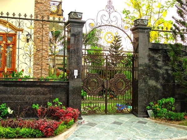 mẫu cổng hàng rào 3