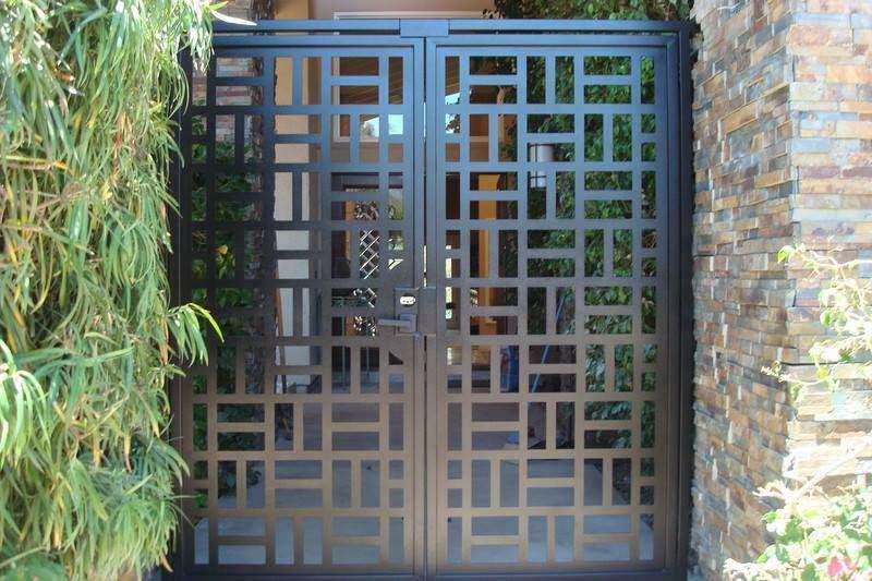 mẫu cổng hàng rào 8