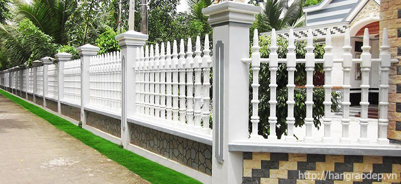 Hàng rào trụ tháp cho biệt thự