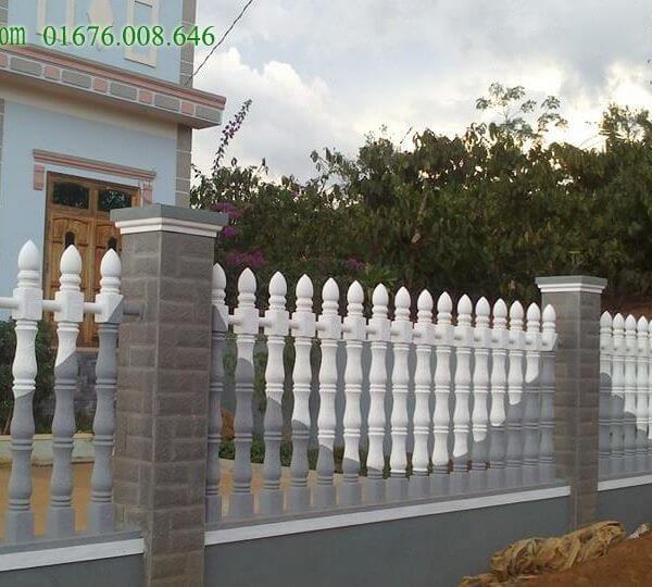 hàng rào trúc sen cho nhà ở