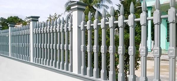 hàng rào vệ binh 1 lỗ cho nhà dân