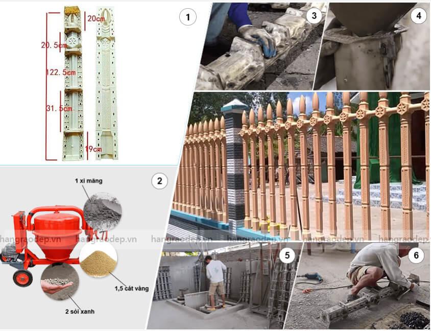 sản xuất Hàng rào lục giác 2 đốt