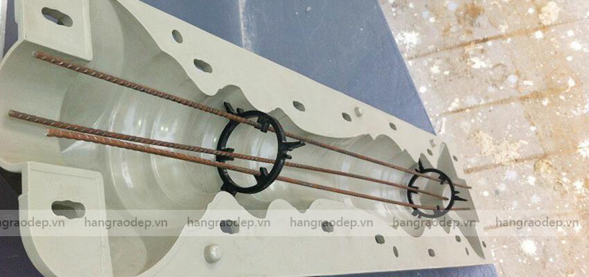 cấu tạo hàng rào trúc sen 2 đốt