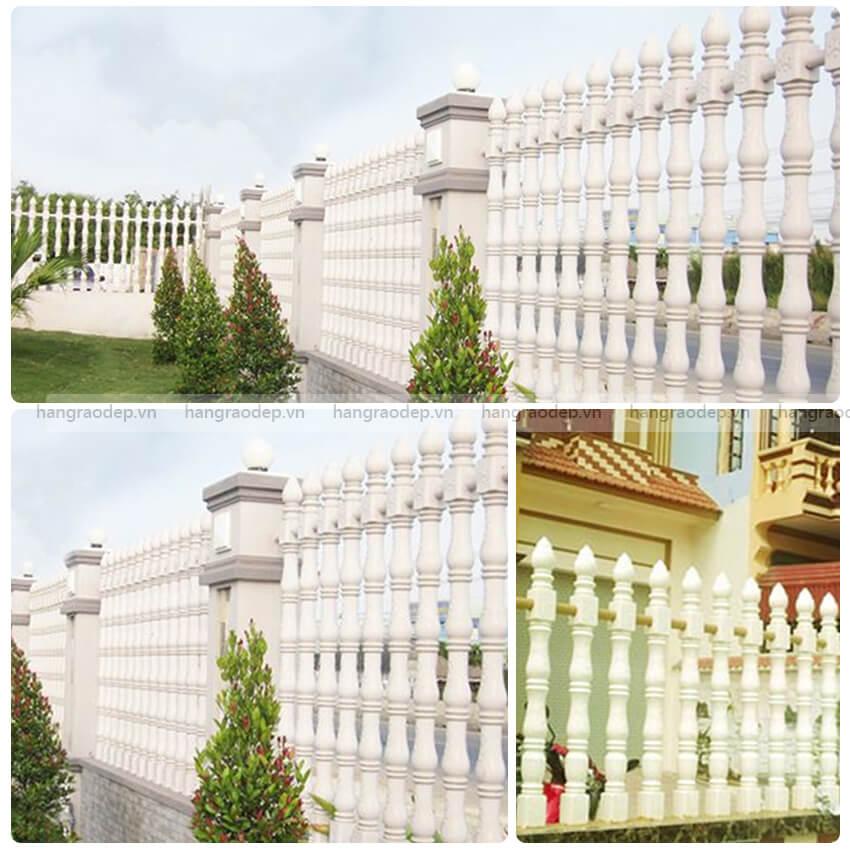 hình ảnh hàng rào trúc sen 3 đốt